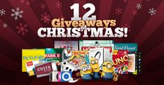 Feeling lucky? Enter now to win amazing prizes throughout Christmas.