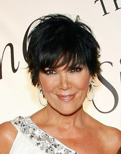 Kris Jenner Graduated Bob - Kris Jenner Looks - StyleBistro Prom Hairstyles, Graduated Bob Hairstyles, Layered Bob Hairstyles, Short Black Hairstyles, My Hairstyle, Pixie Haircuts, Medium Hairstyles, Celebrity Hairstyles, Braided Hairstyles