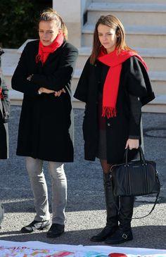 Princess Stephanie and daughter Pauline Ducruet