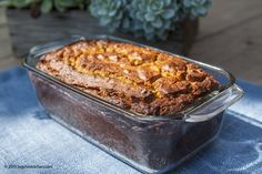 Mom's Banana Bread with Walnuts (Gluten and Dairy Free) - Free Paleo Recipes and More. Get the recipe at BigChinKitchen.com