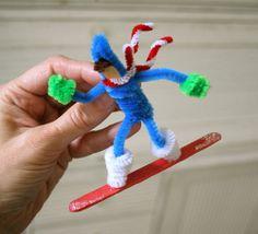 snowboarder ornament | Flickr - Photo Sharing!