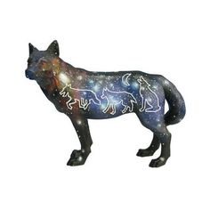 Call of the Wolf figurine: Mother Earth