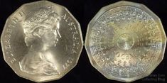 An article about the value of rare Australian 50 cent coins that you can find in. An article about the value of rare Australian 50 cent coins that you can find in your change. Antique Coins, Old Coins, Rare Pennies, Australian Money, English Coins, Rare Coins Worth Money, Coin Worth, Gold And Silver Coins, Coin Values