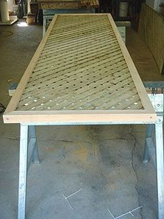 Extending A Privacy Fence With Wood Lattice Screen Panels