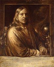 Samuel Van HOOGSTRATEN Self-portrait with Pen in Hand Dordrechts Museum
