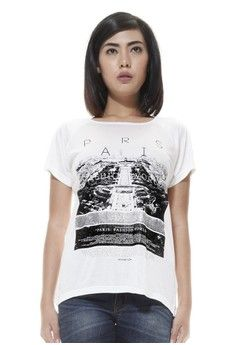 Wanita > Pakaian > Atasan > Kaos > Raofe Ladies Standard : Paris Fashion World > RAOFE