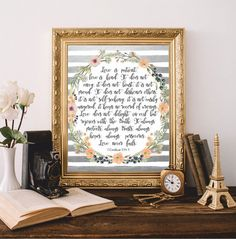Christian wall art Bible verses art Bible quote от AtticOfMemories #prints #christian #bible
