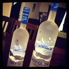Grey Goose makes the girls