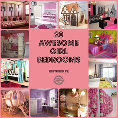 Girl's Bedroom Decorating Ideas