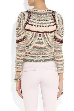 Isabel Marant Weston crochet-knit jacket NET-A-PORTER.COM