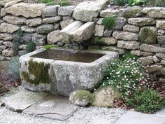 manifold water feature stone - Google Search