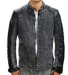 Harga  Rp.200.000 Jaket anak jalanan dengan bahan jeans dan semi kulit bef7d87ae2