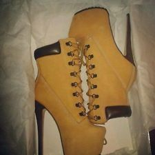 ziginy timberland heels boots