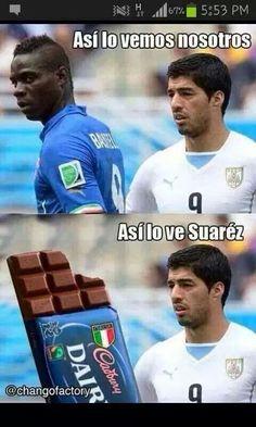 haha que desventaja para Uruguay..