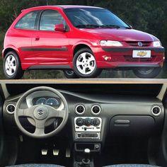 Chevrolet Celta Energy 2003 #tbt Desenvolvido no Brasil o Celta (2000-2015) foi um sucesso de vendas no lançamento com 81.628 unidades vendidas somente nos primeiros cinco meses! Tinha motor 1.0 MPFI de 60 cv herdado do Corsa. Em 2003 ganhou essa versão com bloco 1.4 MPFI de 85 cv. Passou por duas realizações em 2006 e 2012. Saiu de linha em 2015 deixando o Onix como sucessor.  #carrosnacionais #CarroEsporteClube #chevrolet