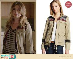 Malia's embroidered jacket on Teen Wolf.  Outfit Details: http://wornontv.net/36791/ #TeenWolf
