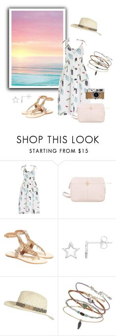 """Untitled #530"" by janelee8598 ❤ liked on Polyvore featuring Isharya, Rejina Pyo, Tory Burch, Sam Edelman, Estella Bartlett, Hermès, River Island and Miss Selfridge"