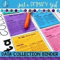 This Editable Data Collection Binder is PERFECT for classroom teachers that need to collect data for students that may go through child study or the eligibility process for special education.
