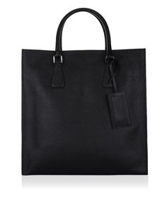 Prada VA1016 Men s Saffiano Tote - Nero - Rubino Prada Bag, Men s  Collection, Neiman ced97e9852