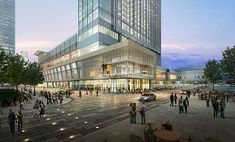 Proposed Marriott Marquis Hotel, Downtown Houston