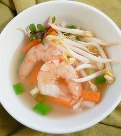 Shrimp and Lemongrass Soup by awesomecuisine #Soup #Shrimp #Lemongrass #Healthy #Light