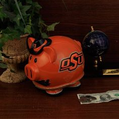 Oklahoma State Cowboys Piggy Bank