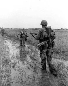 Patrolling the Delta - Vietnam War