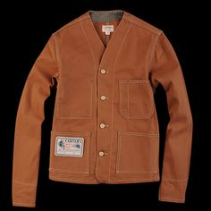 UNIONMADE - H.W. Carter & Sons - Engineer Jacket in Clay ($285.00) - Svpply