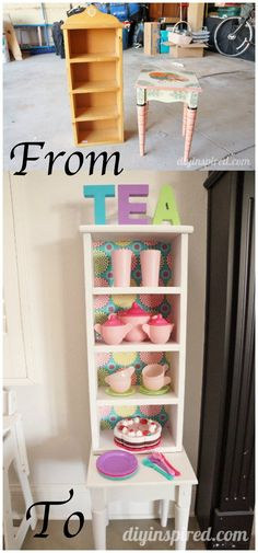 16 Upcycled Furniture Ideas to Give Old Furnitures New Lives - Page 2 of 3 Wooden Garden Furniture, Diy Kids Furniture, Furniture Layout, Repurposed Furniture, Unique Furniture, Dining Furniture, Office Furniture, Ikea Furniture, Furniture Removal