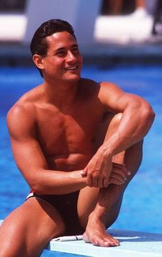 Considered the greatest diver of all time, Greg Louganis won gold medals at the 1984 and 1988 Olympic Games on both the springboard and platform. He is the only male and the second diver in Olympic history to sweep the diving events in consecutive Olympic Games. --From About.com (Diving)