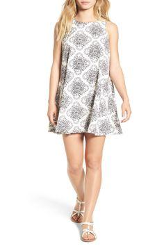 'Reve Illusorie' Floral Print Swing Dress
