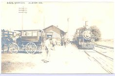 Albion Indiana depot