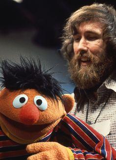 Jim Hensen, with Ernie (my favorite). (via @Sesame Street on Tumblr)
