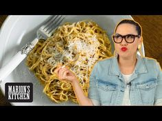 Super CHEESY Cacio e Pepe Noodles with my little SECRET ingredient 🤫| Marion's Kitchen - YouTube