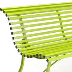 This bench, with its steel slats and timeless shape, looks at home in any outdoor setting. Features - Designed by Fermob Studio - Country of Manufacture: France - T flat steel frame - 20 galvanized st