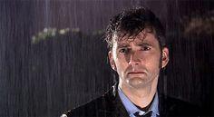Doctor Who, rain, sad