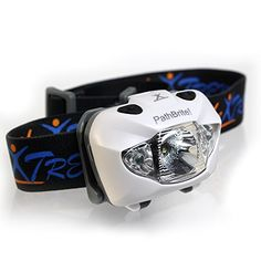 PathBrite! Headlamp LED Flashlight - Waterproof, Ultra-Bright, Lightweight Headlight with Red Lights for Boys and Girls. Comfortable for Your Reading, Walking, Jogging, Climbing, Hunting, Canoeing... Long Battery Life (Included) Up to 5 Days (White) TheXtremer http://www.amazon.com/dp/B00R3F3KAM/ref=cm_sw_r_pi_dp_Hes.ub17RBQQM