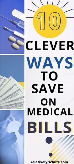 10 creative ways to lower your medical bills. Number 6 could SAVE YOUR LIFE! Share these tips with everyone you know and lower your medical bills today! Best Money Saving Tips, Money Tips, Saving Money, Frugal Living Tips, Frugal Tips, Health Insurance Companies, Medical Billing, Rich Life, Financial Tips