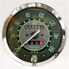 VW Speedometer 160km/h green with partial LED lighting. Shipping Worldwide I BUY NOW !