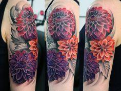 Ilona floral;Love the Dahlias, different placement