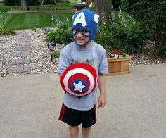 PDF Pattern for Super American Hero Mask by JensNeedleKnows