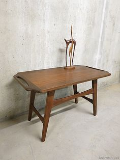Danish coffee table side table mid century design salontafel bijzettafel Deense stijl