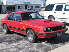 1979 Mercury Capri RS Turbo