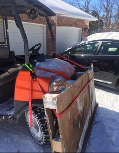 Homemade Snow Plow Truck BestMomsTV BestMomsTV Stuff