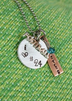 Football Mom or Girlfriend Necklace  by mistyDserendipities, $18.00