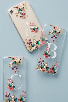 Casetify Floral Monogram iPhone 6/7 Case #Anthrofave #Iphone6