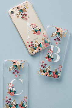 Casetify Floral Monogram iPhone 6/7 Case #Anthrofave