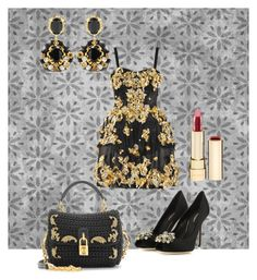 Dolce&Gabbana Addicted by giubagnols on Polyvore featuring polyvore, fashion, style, Dolce&Gabbana and clothing