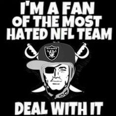 Ya,kiss my ass! Raiders Sign, Raiders Stuff, Raiders Baby, Oakland Raiders Wallpapers, Oakland Raiders Football, Nfl Memes, Football Memes, Raider Nation, Fighting Irish