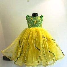 Designer dresses for kids Baby Girl Dresses Diy, Kids Party Wear Dresses, Baby Girl Birthday Dress, Kids Dress Wear, Kids Gown, Little Girl Dresses, Birthday Frocks, Girls Frock Design, Baby Dress Design